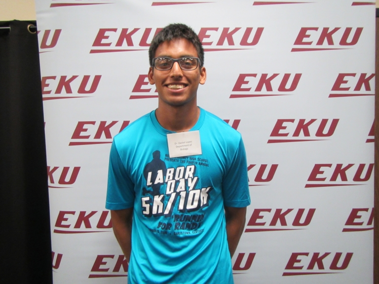 EKU McNair scholar is Science student of the month!