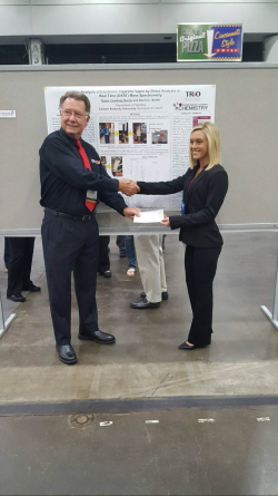 McNair Scholar Courney Norris Takes First Place in Poster Competition