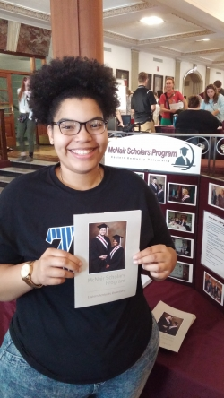 EKU McNair Scholar to Deliver 2016 Fall Commencent Address for the College of Science!